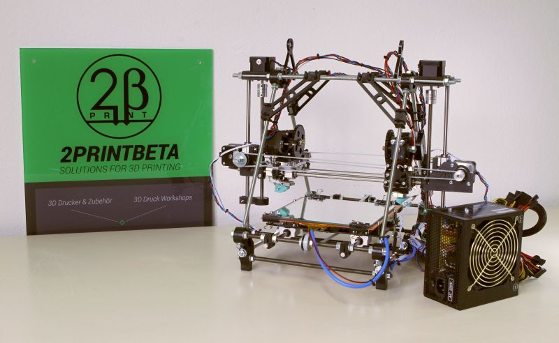 BetaPrusaV2 DualX 3D printer