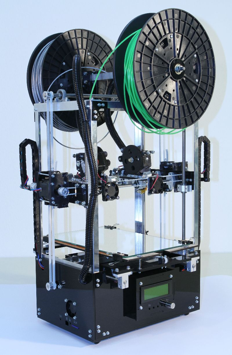 Printupy 3D printer dualX - 2PrintBeta - 3D-Drucker, Entwicklung, Prototypen