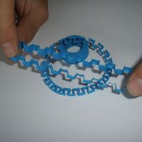 Bracelets printed in soft-PLA with 0.2mm layer thickness